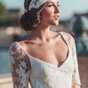 Coiffure et maquillage professionnel pour mariage