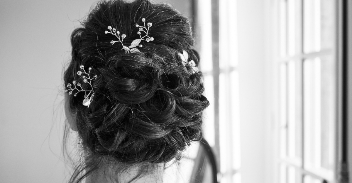 Wedding and engagement hairstyle