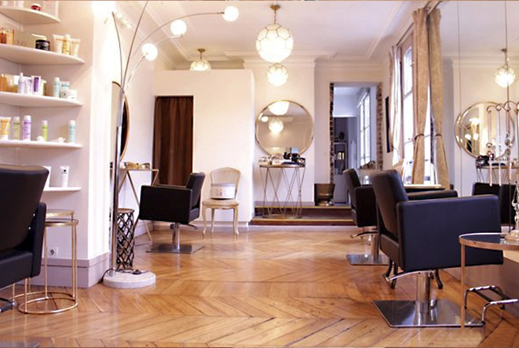 Appartement à Paris coiffure maquillage